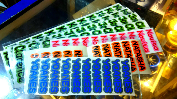 Cutting Sticker Label Khusus
