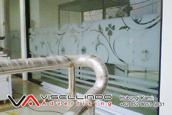 Cutting Sticker Sandblast