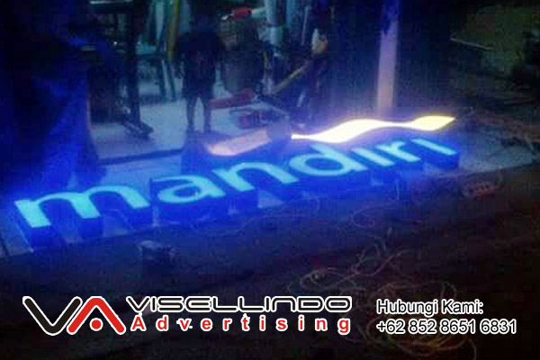 Neon Box Bank Mandiri