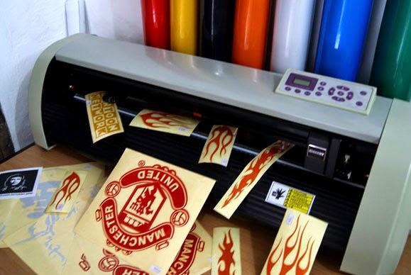 Perbedaan Cutting Sticker Dengan Printing Sticker